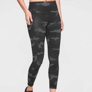 Athleta Contender Camo Pants